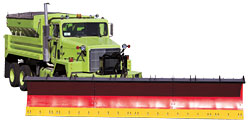 Polyurethane Snow Plow Edge, Large Plow