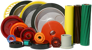 Polyurethane Rollers and Wheels