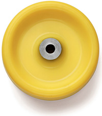 Custom Molded Polyurethane Wheel